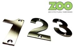 Zoo ZSN**B Series Stainless Numerals and Letters 102mm High
