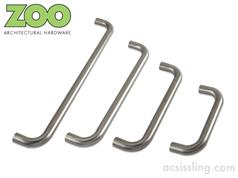 Zoo ZCSD Series D-PULL Handles 19mm & 22mm Diameter Grade 304 Stainless
