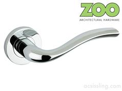 ZOO ZPZ SIENNA Round Rose Lever Suite Screw on Rose
