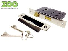 Zoo ZSC3 Series LIGHT Duty 3 Lever Mortice Sashlocks